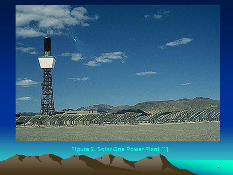 Figure 2. Solar One Power Plant [1].